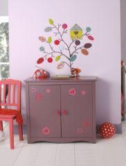 Penderie armoire nature pour chambre de fille en solde - Meuble de rangement pour chambre de fille ...