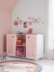 Meuble bas rangement chambre fille meuble original pour chambre de fille - Rangement bas chambre ...