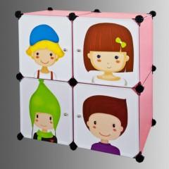 Pour ma famille etagere avec bac rangement pour jouet - Meuble rangement jouet fille ...
