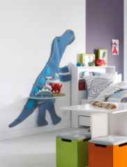 Chambre d 39 enfant table de chevet et d coration murale - Deco chambre dinosaure ...