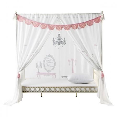 ciel de lit rose pour d corer une chambre de fille en chambre de princesse d corer. Black Bedroom Furniture Sets. Home Design Ideas