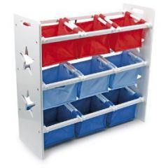 Rangement jeux et jouets chambre enfant coffre jouets bac bo te etag re meuble malle - Meuble avec bac de rangement jouet ...
