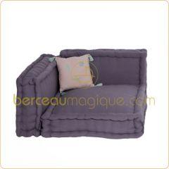 matelas pliable et la fois lit d 39 appoint id al pour les chambres de junior id e d co. Black Bedroom Furniture Sets. Home Design Ideas