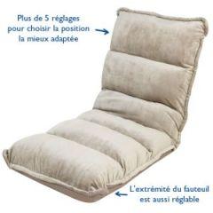Coussin pouf fauteuil canape pour enfant meuble for Fauteuil de lecture confortable