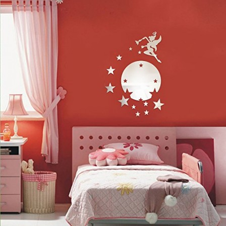 d coration chambre fille pr parer la chambre de b b stickers f e tu seras d corer. Black Bedroom Furniture Sets. Home Design Ideas