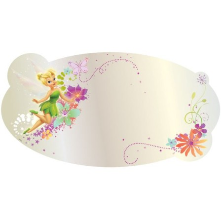 Stickers f es stickers f e clochette et d coration murale for Decoration chambre fille 4 ans