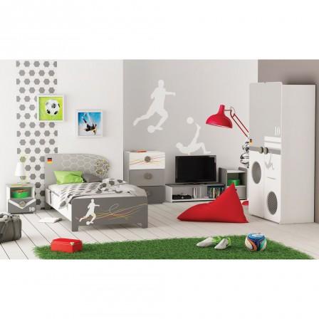 Décoration Et Meuble Football Pour Chambre Denfant Aménager Et - Canapé 3 places pour création chambre bébé