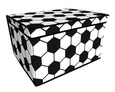 D coration et meuble football pour chambre d 39 enfant am nager et meubler - Ballon foot noir et blanc ...