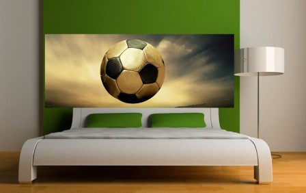 mot cl decoration football d corer. Black Bedroom Furniture Sets. Home Design Ideas