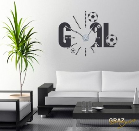 D coration et meuble football pour chambre d 39 enfant for Decoration murale photo