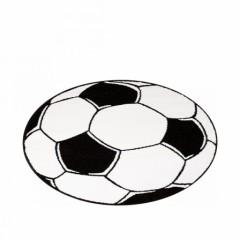 D coration et meuble football pour chambre d 39 enfant am nager et meubler - Ballon de foot noir et blanc ...