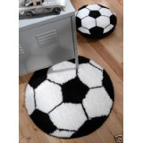 tapis football forme ballon de football deco chambre enfant fan de foot le ballon rond football tapis protection sol pas cher.jpg
