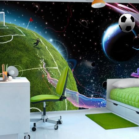 deco murale foot decoration chambre enfant sur le th me. Black Bedroom Furniture Sets. Home Design Ideas