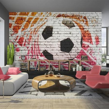 d coration et meuble football pour chambre d 39 enfant am nager et meubler chambre enfant sur le. Black Bedroom Furniture Sets. Home Design Ideas