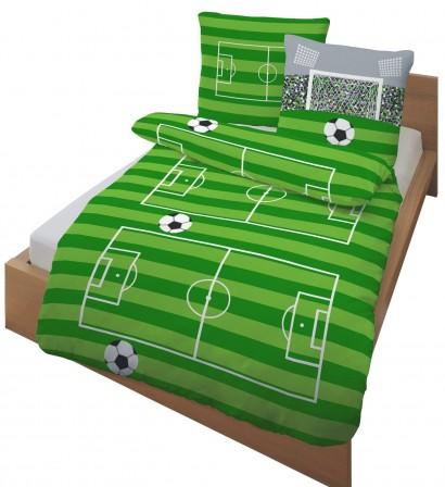 D coration et meuble football pour chambre d 39 enfant for Housse de couette 1 personne enfant