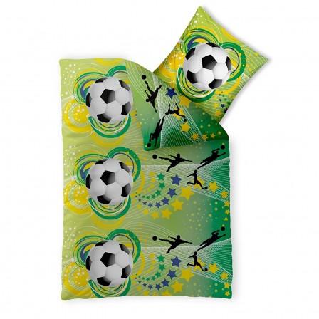 D coration et meuble football pour chambre d 39 enfant - Housse de couette 1 personne enfant ...