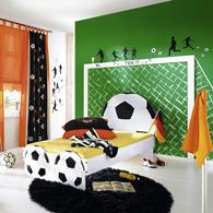 décoration chambre foot