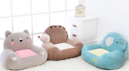 Coussin pouf fauteuil canape pour enfant meuble for Petit fauteuil pour chambre