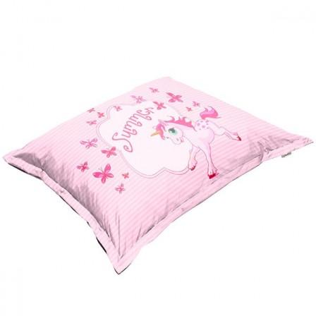 Coussin pouf fauteuil canape pour enfant meuble for Decoration a poser au sol