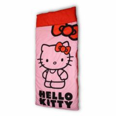 sac de couchage facile à emporter hello kitty pour couchage d'appoint pour le camping pour partir en week-end idee cadeau hello kitty fille.jpg