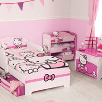 Hello Kitty Chambre Fille 2 Ans, 3 Ans, 4 Ans, 5 Ans,