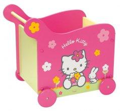 Rangement jeux et jouets chambre enfant coffre jouets - Decoration hello kitty pour chambre bebe ...