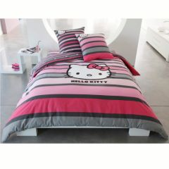 housse de couette hello kitty housse homeinterior. Black Bedroom Furniture Sets. Home Design Ideas