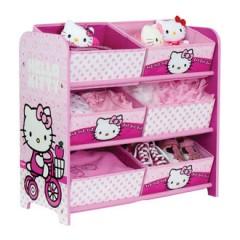 meuble rangement hello kitty 6 casiers pour chambre de fille petit mobilier hello kitty pour chambre d'enfant.jpg