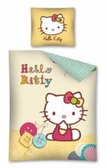 D coration hello kitty pour chambre d 39 enfant linge de - Housse de couette hello kitty x ...