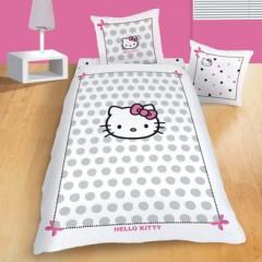 housse de couette hello kitty 140 x 200 200 x 200 220 x 240 housse parure linge de lit. Black Bedroom Furniture Sets. Home Design Ideas
