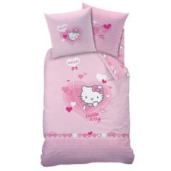 d coration hello kitty pour chambre d 39 enfant linge de lit housse de couette hello kitty d corer. Black Bedroom Furniture Sets. Home Design Ideas