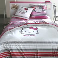 Mot cl linge hello kitty d corer - Housse de couette hello kitty personne ...