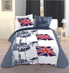 linge de lit en anglais Housse de couette londres, london   Linge de lit londres, parure  linge de lit en anglais