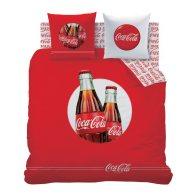 housse de couette coca cola pour jeune adulte ado plusieurs tailles disponibles original bouteille coca imprimée sur tissu rouge.jpg