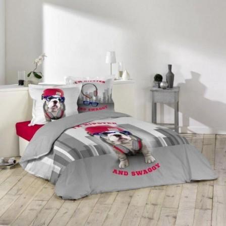 Housse de couette ado adolescent linge de lit housse for Housse de couette 1 personne fille