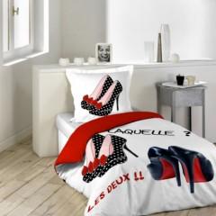 housse de couette douceur pour junior ou chambre d 39 ado des id es pour d. Black Bedroom Furniture Sets. Home Design Ideas