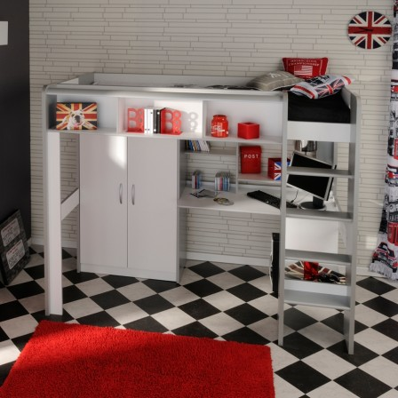 lits de lit de lit d 39 adolescent. Black Bedroom Furniture Sets. Home Design Ideas