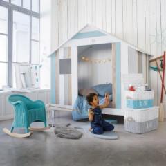 lit cabane enfant lit cabane en bois pour enfant pour am nager une chambre et gagner de l. Black Bedroom Furniture Sets. Home Design Ideas