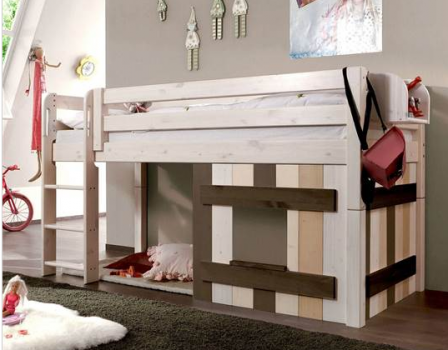 lit cabane enfant lit surelev pour fille et gar on lit. Black Bedroom Furniture Sets. Home Design Ideas