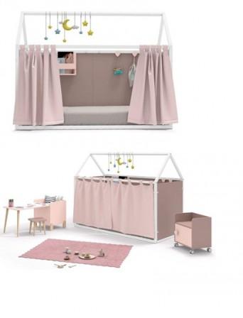 lit cabane enfant : lit cabane en bois pour enfant pour ...