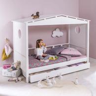 Soldes et promotion sur le lit cabane pour chambre d 39 enfant avec rangemen - Lit enfant cabane pas cher ...