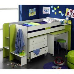 Lit compacte lit combin pour enfant pour gagner un maximum de place lit o - Combine lit bureau junior ...