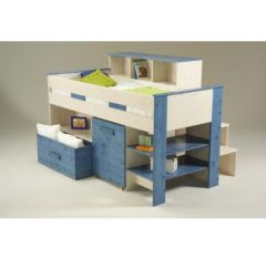 Lit compacte lit combin pour enfant pour gagner un for Bureau enfant gain de place