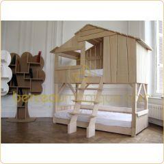mot cl lit cabane d corer. Black Bedroom Furniture Sets. Home Design Ideas