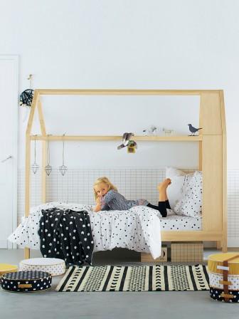 Lit pour chambre de fille - Lit original pour aménager une chambre ...