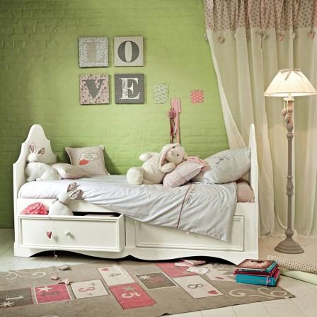 Lit Pour Chambre De Fille Lit Original Pour Aménager Une Chambre - Lit pour fille avec rangement