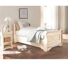 Decoration et mobilier chambre de fille baldaquin lit - Lit en bois moderne pour adulte ...