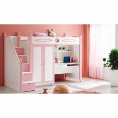 decoration et mobilier chambre de fille baldaquin lit princesse d co enfant chambre de. Black Bedroom Furniture Sets. Home Design Ideas