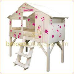 decoration et mobilier chambre de fille baldaquin lit. Black Bedroom Furniture Sets. Home Design Ideas