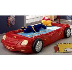 Un lit voiture original pour une chambre de gar on une - Deco chambre enfant voiture ...